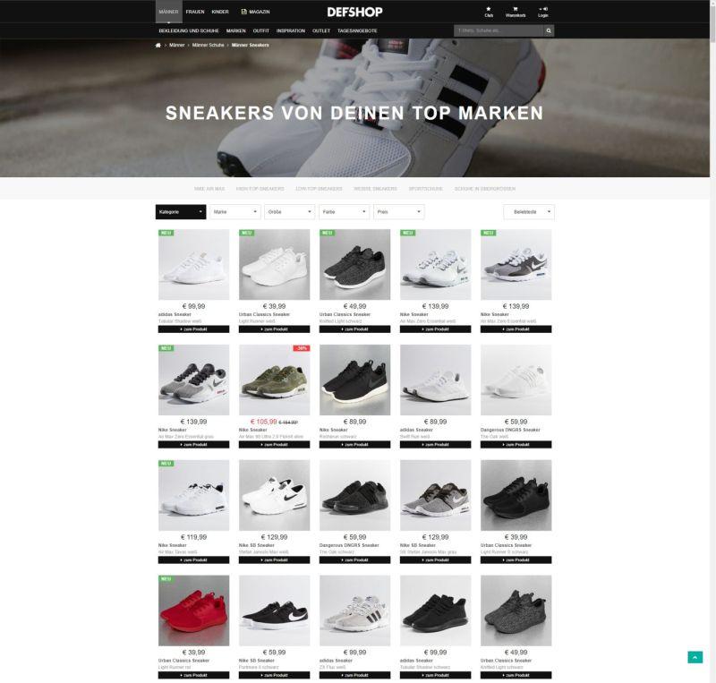 DefShop-Produktsortierung-Mit-odoscope-web