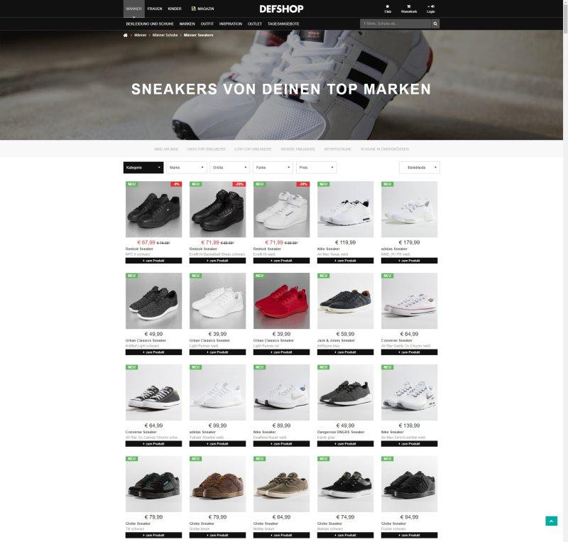 DefShop-Produktsortierung-Ohne-odoscope-web